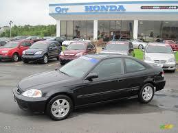 Honda Civic 2000 Specs 2000 Flamenco Black Pearl Honda Civic Si Coupe 32898641 Photo 6