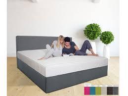 Schlafzimmer Komplett Mit Aufbau Medilight Wasserbett Mit Zwei Kammer System In Boxspring Optik