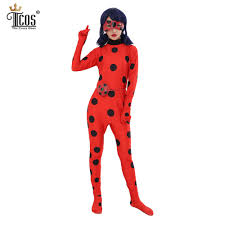 Halloween Costume Birthday Party by Aliexpress Com Buy Lady Bug Halloween Costume Woman Miraculous
