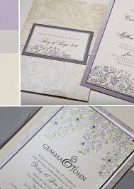 Silver Wedding Invitations Best Compilation Of Lavender And Silver Wedding Invitations Which