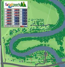 Nd Map Iwen Park North Disc Golf Course Professional Disc Golf Association