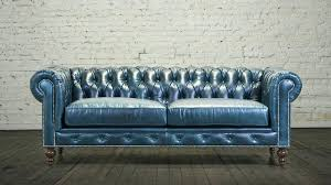 blue chesterfield sofa blue leather chesterfield blue leather chesterfield sofa antique