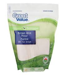Brown Rice Flower - great value organic brown rice flour walmart canada