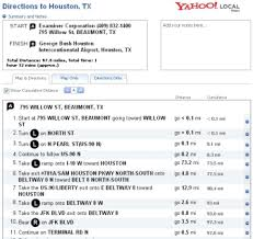 printable driving directions printable driving directions and maps yahoo drivingdirectionroute