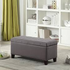 Coffee Table Storage Ottoman Ottoman Attractive Gray Ottoman Strandmon Nordvalla Dark Ikea
