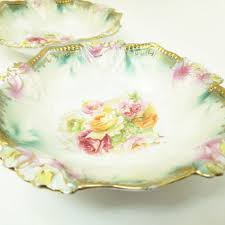 rs prussia bowl roses best antique pink bowls products on wanelo