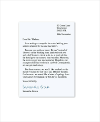 complaint letter example free download 14 restaurant and hotel