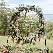 Wedding Wreaths The Hottest Wedding Trend 21 Giant Wreaths U2013 Style Info