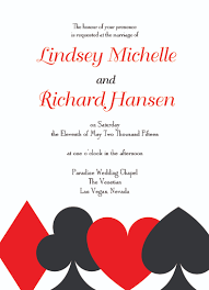 vegas wedding invitations las vegas wedding invitations card suits invitations by r2