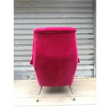 Pink Armchairs Pair Of Velvet Pink Armchairs By Guy Besnard 1960s Design Market