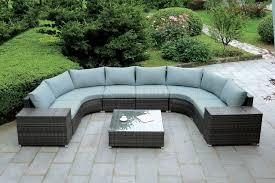 cm os2121 u outdoor patio sectional sofa w coffee table