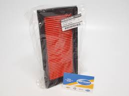 nissan genuine accessories malaysia nissan 165461hk0a genuine oem air filter ebay