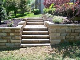 Garden Wall Railings by Exterior Exterior Wooden Deck Stair Railings Design In Grey