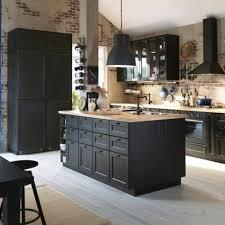 Ikea Black Kitchen Cabinets Ikea Black Kitchen Robinsuites Co