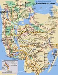 Nyc Maps Popular 256 List Map Of New York City Subway