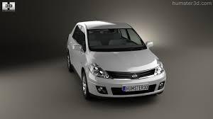 nissan tiida 2012 360 view of nissan tiida c11 sedan 2012 3d model hum3d store