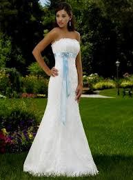 blue and white lace wedding dress naf dresses