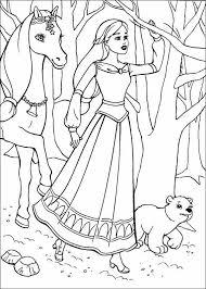 barbie magic pegasus kids coloring pages