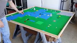 Play Table With Storage by Diy Lego Table Diy Lego Building Table With Storage Youtube
