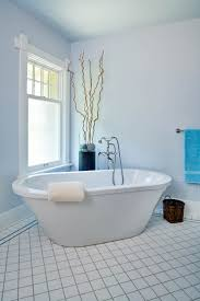 Chandelier Above Bathtub Good Looking Soaker Tub In Bathroom Contemporary With Best Bathtub