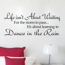 sticker wall quotes in south africa sticker wall quotes in south africa new life dance rain quote motto diy art vinyl