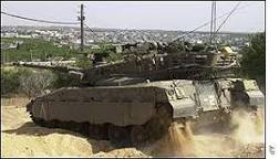 Tropas israelenses voltam a ocupar Faixa de Gaza   BBC Brasil