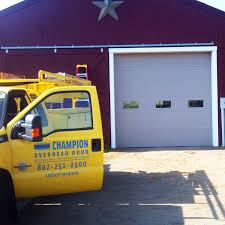 Accurate Overhead Door by Garage Door Services Champion Overhead Door