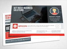 9 business postcard templates free sample example format
