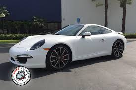 porsche 911 white porsche 911 wrapped in 3m satin white car wrap wrap bullys