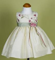 ivory and baby dress