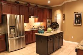 painted islands for kitchens kitchen painted kitchen island with stained cabinets before and