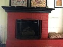 paint colors for fireplaces primitive paint colors with red brick