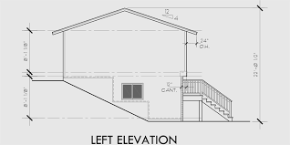split level house plans small house plans