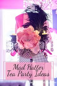 Mad Hatter Decorations Mad Hatter Tea Party Centerpiece 5 Jpg