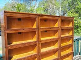 Bookshelves With Glass Doors For Sale by Lawyer Bookcase With Glass Doors