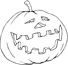 scary halloween pumpkin coloring pages preschoolers free