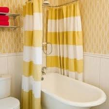 Duo Shower Curtain Rod Flat Curved Shower Rod Foter