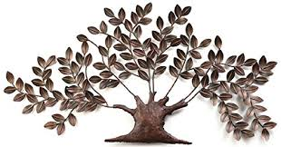 iron metal handicraft wall decor wall hanging nano tree