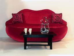 Red Velvet Sofa Set Interesting Red Lip Sofa Pictures Decoration Inspiration