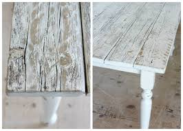 white stain on wood table whitewashed reclaimed wood dining table satori design for living