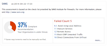 Sans Policy Templates by Security Audit Change Management Firewall Rule Analysis For