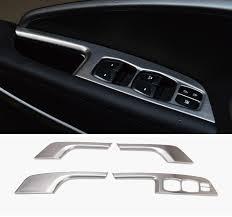 Santa Fe Interior Doors 4 Pcs Set Car Styling Interior Door Window Lift Switch Panel