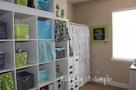 craft room reveal decor ideas and craft supplies organization