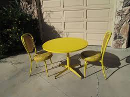 1960s Patio Furniture Yellow Patio Furniture Interiors Design