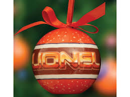 lionel logo ornaments