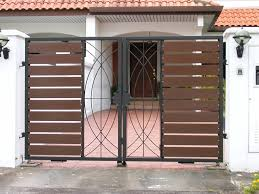 lovely simple front gate designs main design makeovers and color