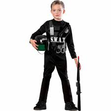 halloween costumes for nine year olds s w a t team child halloween costume walmart com