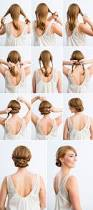 Simple But Elegant Hairstyles For Long Hair by Top 25 Best Simple Wedding Hairstyles Ideas On Pinterest