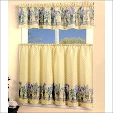 Yellow White Curtains Yellow And White Valance Kitchen Curtains To Match Yellow Walls