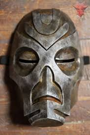 halloween island dragon city skyrim inspired morokei konahrik dragon priest mask cosplay